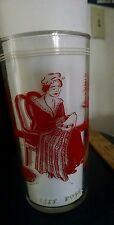 "Vintage Hazel Atlas Betsy Ross 5"" Glass Tumbler Free Shipping"