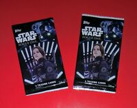 Lot of 2 pks Topps 2016 Star Wars Rogue One Series 1 Trading Cards factory seal