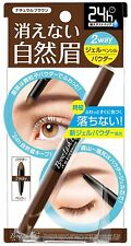 Browlash EX Water Strong W Eyebrow Gel Pencil & Powder Natural Brown From Japan