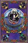 Deadheads Across the Golden Gate - Regular Poster by Jerry Jaspar 24 x 36in