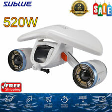 New listing 520W Electric Sublue Sea Scooter Underwater Propeller Diving Snorkeling 122Wh Us