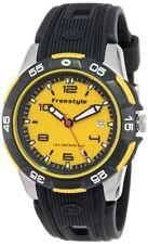 Freestyle KAMPUS FS80937 Steel Dive Watch Rubber Strap Analog black yellow Round