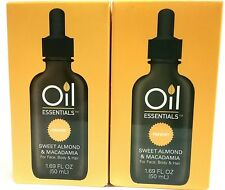 Oil Essentials PREVENT Sweet Almond & Macadamia Lot of 2