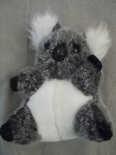Peluche Koala tricolore gris et blanc 18 cm