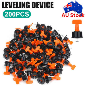 300x Tile Leveling System Clips Levelling Spacer Tiling Tool Floor Wall Wrench