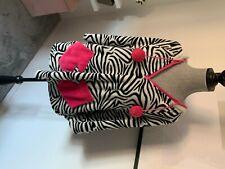 Zebra Poncho Dressing Gown