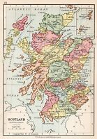 Map Of Scotland Brunswick Period