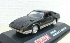 Real-X 1/72 NISSAN FAIRLADY Z 300ZX Z31 BLACK/SILVER diecast car model
