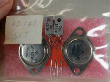 Amperex Philips Ad158 Set Ad158 2 Ac127 Amp Ac132 Transistors Nos