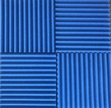 4 pack Acoustic Foam Tiles   1 x 12 x 12 (BLUE) ** FREE SHIPPING