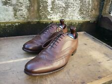 CHURCH OXFORD BROGUES -  BROWN / TAN - UK 8.5 - LONGLEAT – EXCELLENT CONDITION
