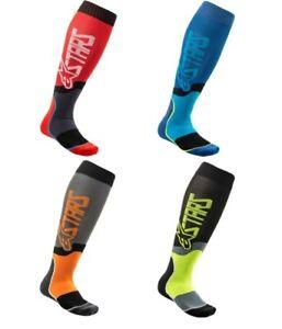Alpinestars MX Plus-2 Knee Length Socks for Motocross Dirt Bike Riding