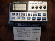 Boss DR 110 vintage analog Drumcomputer Dr. Rhythm Graphic - Roland Sounds
