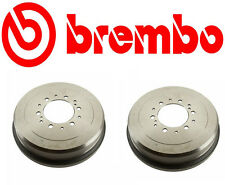 Set of 2 Brembo 21080 Brake Drum - OE Replacement for Toyota
