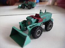 Matchbox Lesney King Size Aveling Barford Tractor Shovel in Light Green