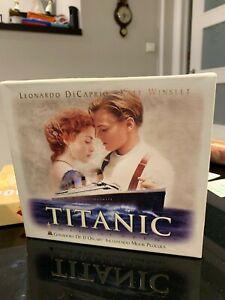 TITANIC  LEONARDO DI CAPRIO KATE WINSLET  VHS BOX SPANISH EDITION