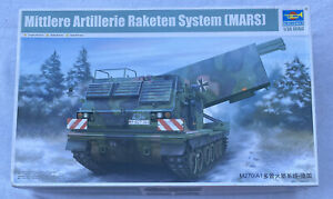 Trumpeter 1:35 M270/A1 Multiple Launch Rocket System Plastic Model Kit 1046