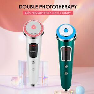 Photon Rejuvenation Beauty Instrument Red Blue Light Vibration Eye Massage