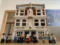 Lego Court House MOC Instructions ONLY NO BRICKS!