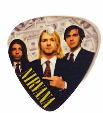 Nirvana guitar pick Kurt Cobain concert memorabilia Nevermind Dave Grohl smear 2