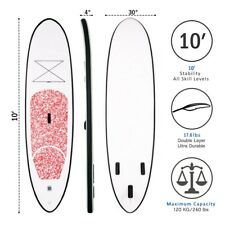 Stand up Paddle board inflatable SUP board FunWater 10 305*76*15