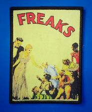 FREAKS - Woven PATCH Cult HORROR movie - Tod Browning, 1930s sideshow circus