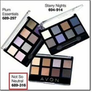 Avon True Color 8-in-1 Eyeshadow Palette - NUDE - New in box-free ship
