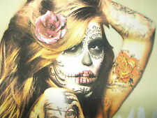 "Damen T-Shirt DIA DE LOS MUERTOS - Tattoo-Girl -T-Shirt von ""The Boxer"""