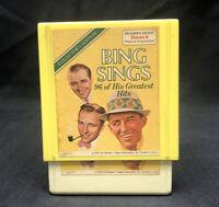 Bing Crosby ~ BING SINGS AGAIN Reader's Digest 3 8-Track Tapes