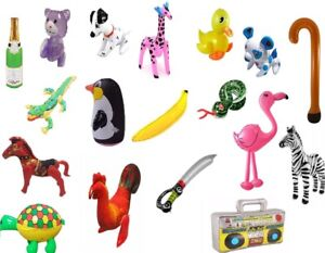 BLOW UP INFLATABLE TOYS Fancy Hen Stag Night Party Accessory Prop Up Decorations