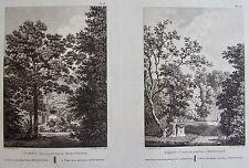 PAVILLON ET VOLIERE MORFONTAINE . LABORDE JARDINS DE FRANCE 1808.