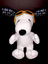 Peanuts Snoopy Flying Ace Animated Plush Toy by Peanuts Worldwide Ears Move