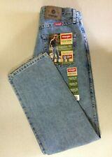 Wrangle Men's Regular Fit Size 30X30 Straight Leg Light Wash Blue Jeans NEW