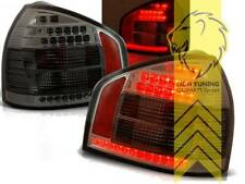 LED Rückleuchten Heckleuchten für Audi A3 8L schwarz smoke