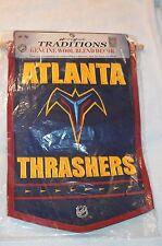 Atlanta Thrashers Pennant/Banner Defunct NHL Hockey Team New Wool Blend 18 x 12