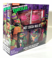 Nickelodeon 2016 Teenage Mutant Ninja Turtles Hot Cocoa Mug Gift Set New In Box