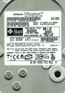 "Hitachi 0A35832 1-TB 7.2K RPM 3.0Gbps SATA 3.5"" LFF Hard Drive HUA721010KLA330"