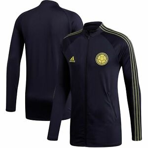 Colombia National Team adidas Federation Anthem Full-Zip Jacket - Navy