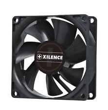 XILENCE SILENT FAN * Lo chassis-ventole * 80x80x25mm * Nero 20 dB (A) * molto silenzioso