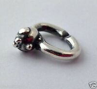 Authentic X by Trollbeads Sterling Silver Fat Bird Link, 2014102009, New