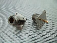 (2) Telewave 44A 44Ap 44L1 44L1P Wattmeter Qc Connector Qc44N N Female