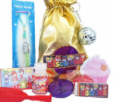 DISCO PARTY BAGS - PRE-FILLED WITH 8  ITEMS