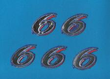 5 Lot Mark Martin Roush Racing NASCAR Sponsor Iron On Hat Jacket Patches Crests