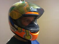 Snowmobile helmet breath deflector chin curtain Bieffe Polaris Artic Cat Shoei