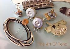 Stratocaster® 300K - TAOT Wiring Kit - CTS, CRL 5-way, Ceramic Disc .05 - Strat®