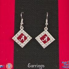 Alabama Crimson Tide diamond shaped rhinestone earrings! ! NEW!