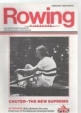 ROWING MAGAZINE - February 1986