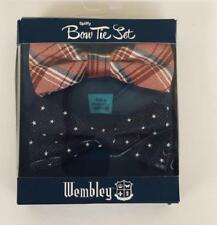 NEW Wembley Spiffy 2 Pack Bow Tie Set - Grover Red Plaid and Blue w/Stars