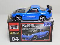 Takara Tomy Tomica Premium 04 Mazda RX-7 FD3S Re Amemiya 1/61 Model Car Drift