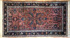 Lovely Lilihan - 1920s American Sarouk Rug - Persian Carpet - 3.7 x 6.4 ft.